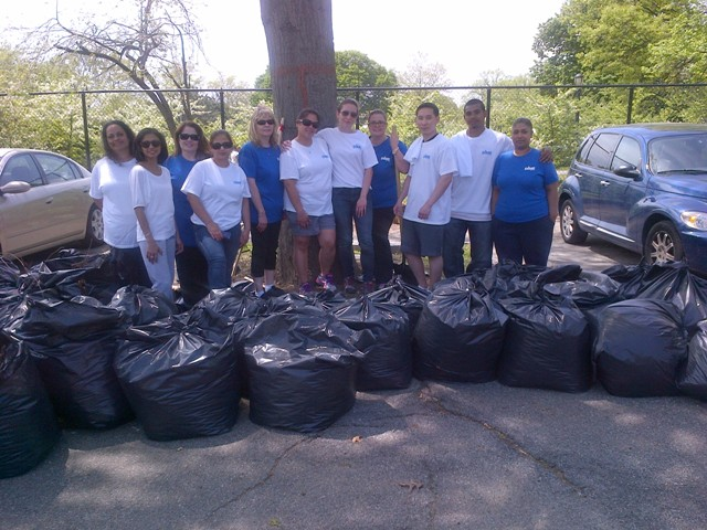 Thanks Cunningham Park Volunteers!