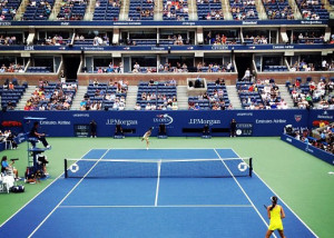 US Open View from President's Box 2