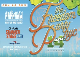 Freedom Party® NYC 14-Year Anniversary