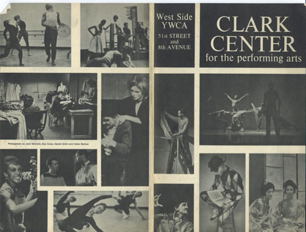 Promotional photo featuring vintage photos of the Clark Center to celebrate it's 60th Anniversary tribute show