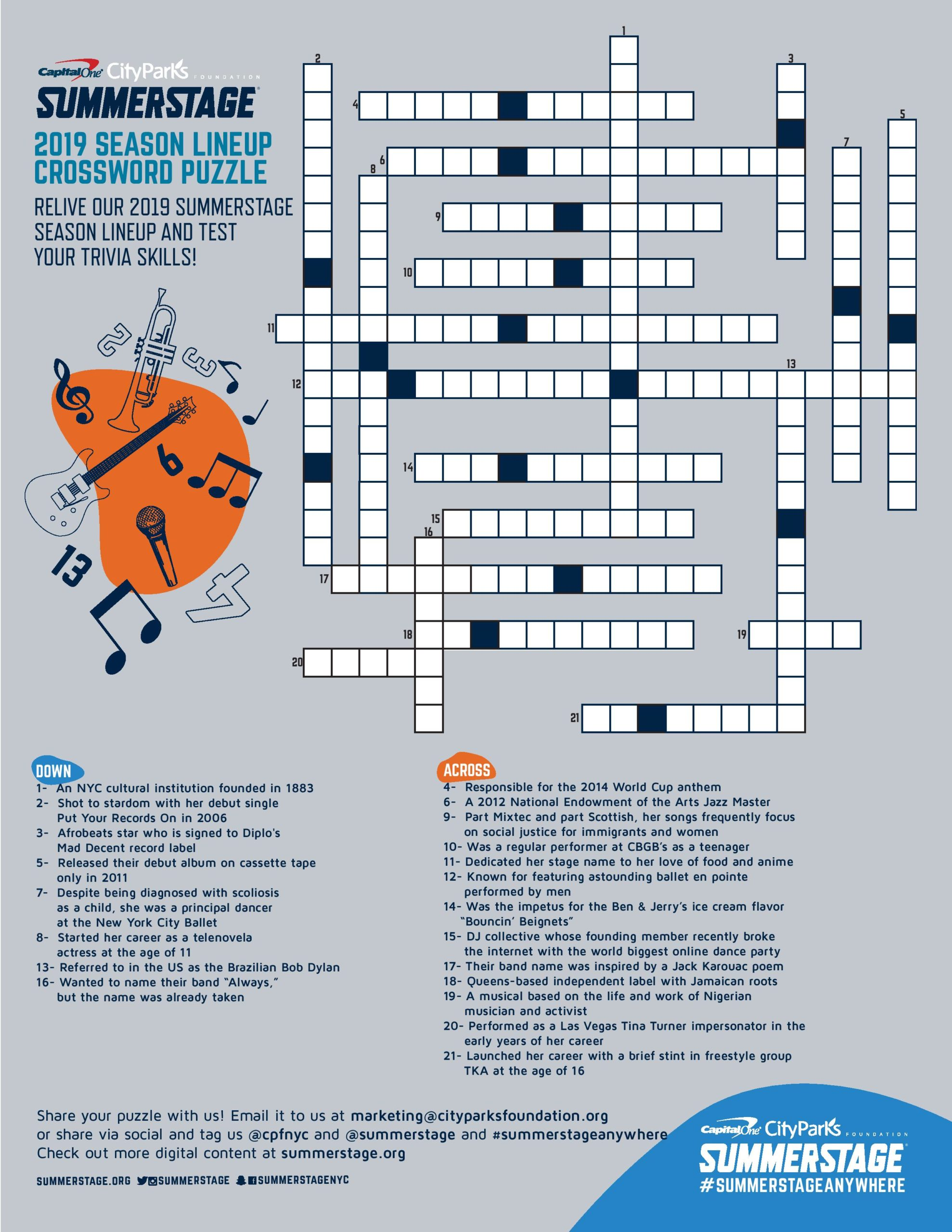 Thumbnail image of a custom crossword puzzle