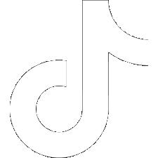 white TikTok icon